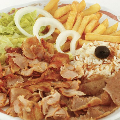 Plato Kebab